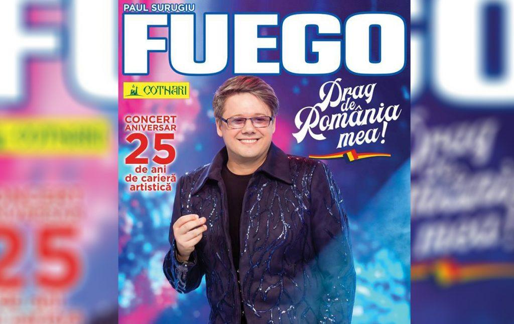 "FUEGO vine la Călărași! – spectacol ""Drag de România mea!"""