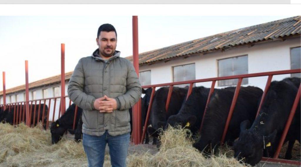 Alin Căprilă, un tânăr fermier, exemplu de urmat pentru cei care vor să pătrundă în acest domeniu!!