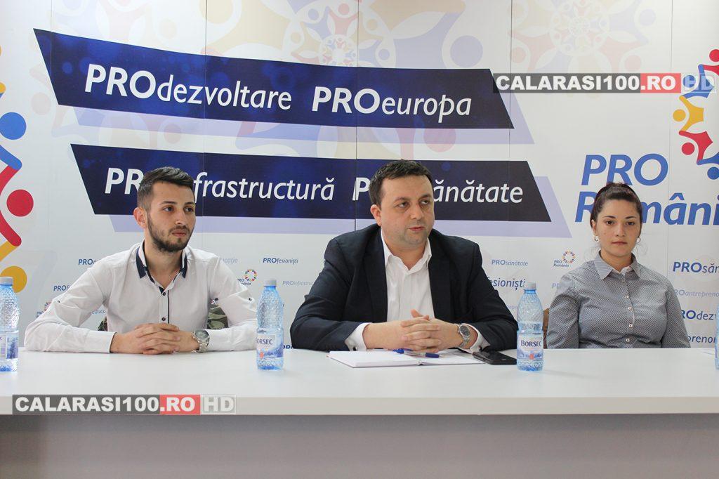 Partidul PRO România prinde contur la Călărași