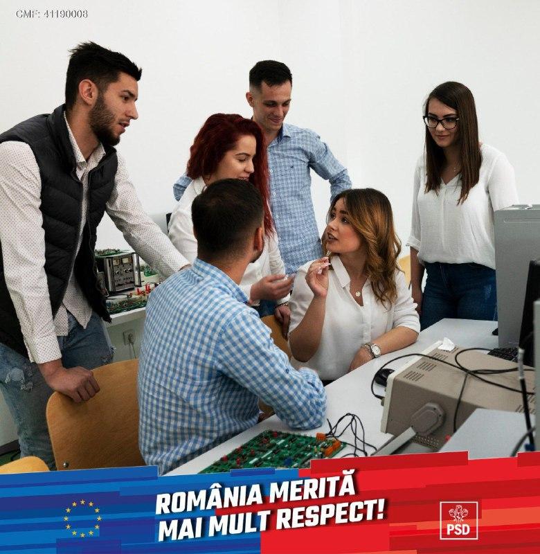 PSD ofertă un viitor mai bun pentru tinerii din România
