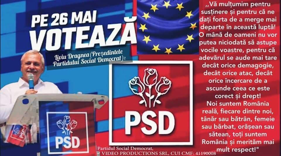 """PSD/ L. Dragnea: Noi suntem România reală, fiecare dintre noi, tânăr sau bătrân, femeie sau bărbat, orășean sau sătean, toți suntem România și merităm mai mult respect!"""""""