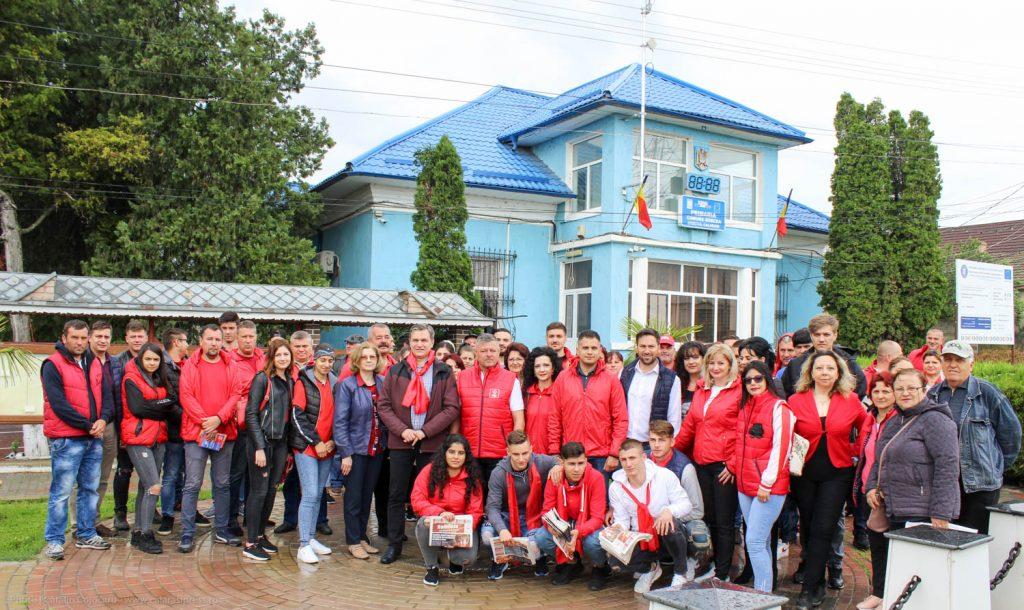 Locuitorii comunei Borcea iubesc PSD și vor susține candidații pentru alegerile europarlamentare
