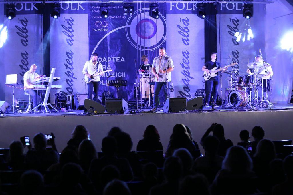 Noaptea Albă a Muzicii Folk – ediția a III-a, la Călărași