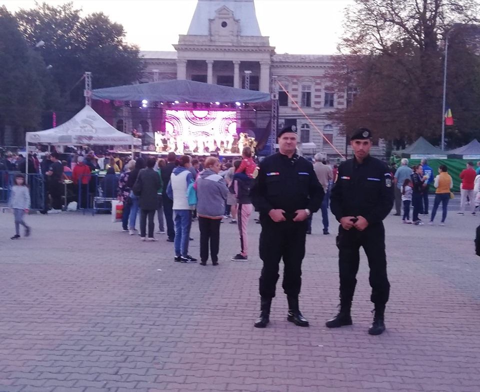 Şase sancțiuni contravenţionale  aplicate de jandarmi la Zilele Municipiului Călăraşi